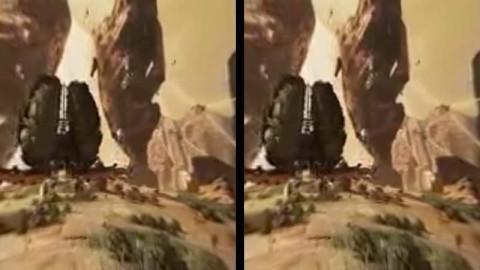 HOMiDOで3D animation -Flyを再生