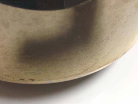 圧力鍋の外側(after)