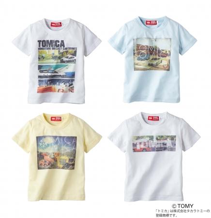 ライトオン・トミカTシャツ